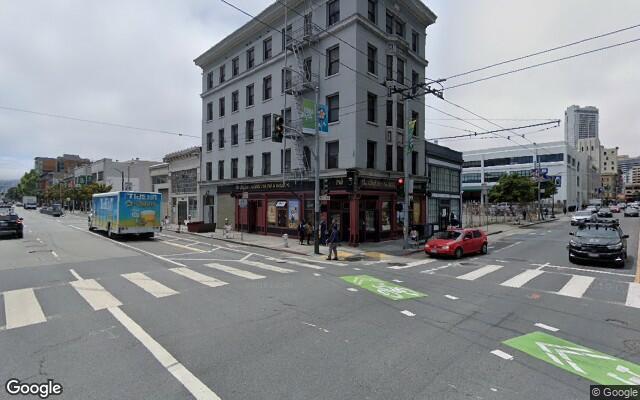 parking on Howard Street in San Francisco