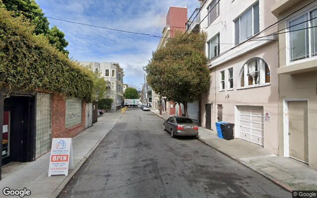 parking on Ivy Street in San Francisco