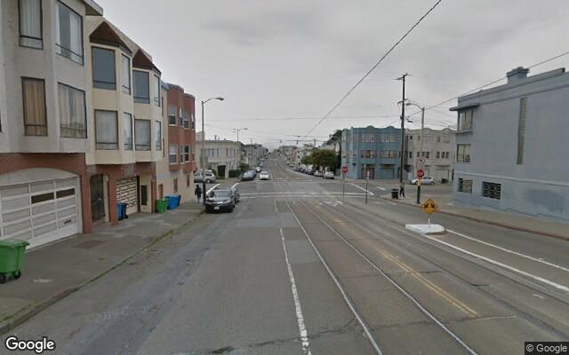 parking on Judah St in San Francisco