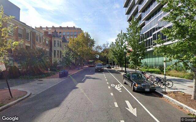 parking on L Street Northwest in Washington