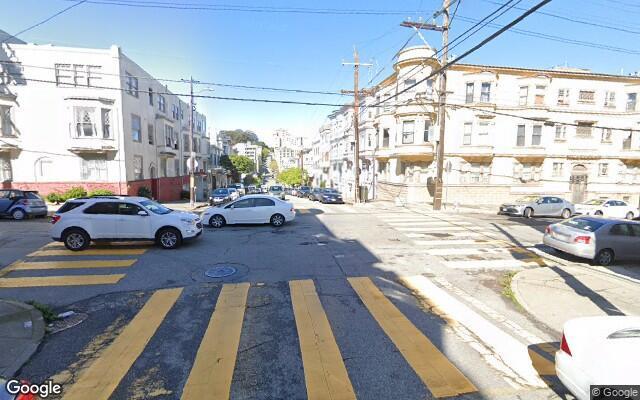 parking on Larkin St in San Francisco