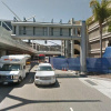 Indoor lot parking on Los Angeles International Airport in World Way