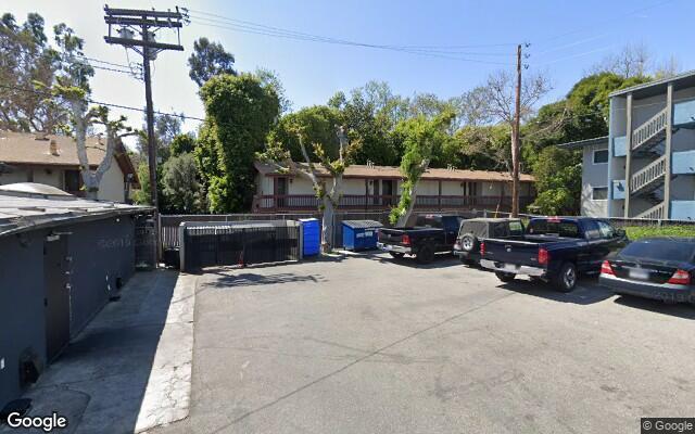 parking on Los Feliz Boulevard in Los Angeles