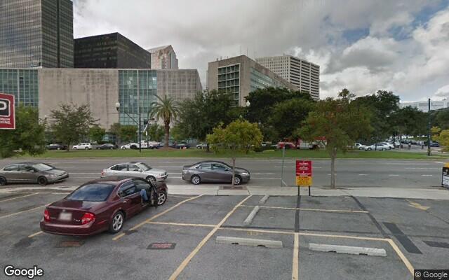 parking on Loyola Avenue in New Orleans