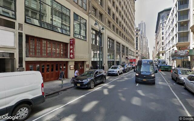 parking on Madison Ave in New York
