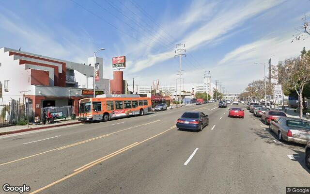 parking on Marengo Street in Los Angeles