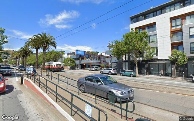parking on Market Street in San Francisco