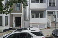 parking on Mercer Street in South Boston Naval Annex