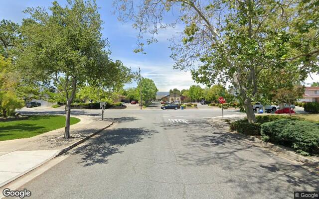 parking on Miller Ave   California in West San Jose