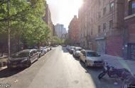 parking on Monroe Street in New York City