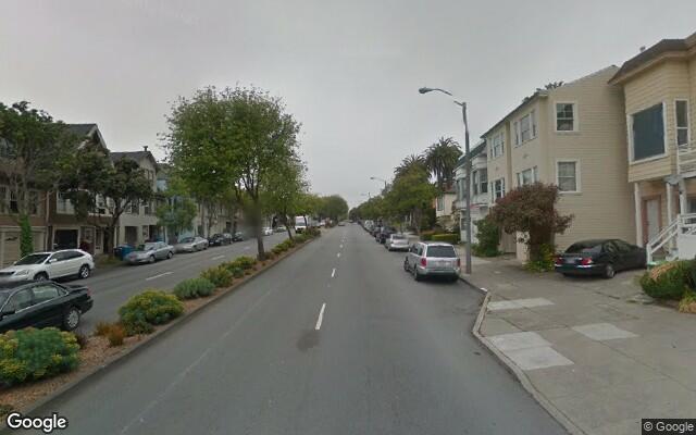 parking on Monterey Blvd in San Francisco