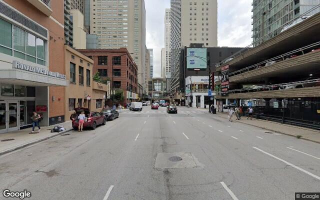 parking on N McClurg Ct in Chicago