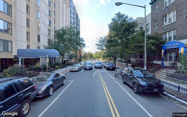 parking on N St NW in Washington