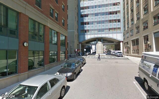 parking on Nassau Street in Boston
