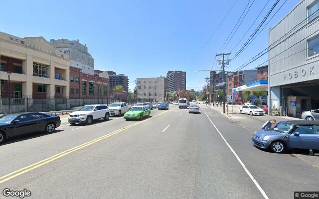 parking on Newark Street in Hoboken