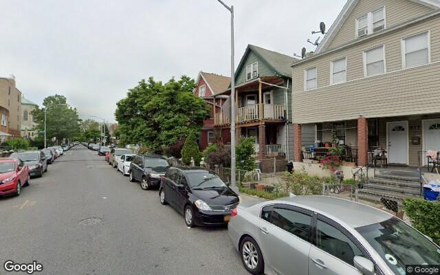 parking on Newkirk Avenue in Brooklyn