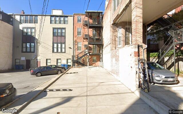 parking on North Calvert Street in Baltimore