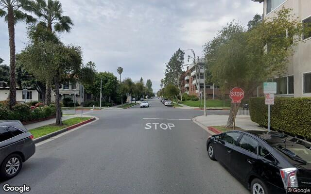 parking on North Clark Drive in Beverly Hills
