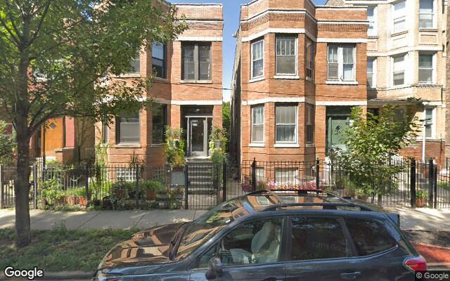parking on North Maplewood Avenue in Chicago