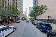 parking on North Saint Clair Street in Chicago