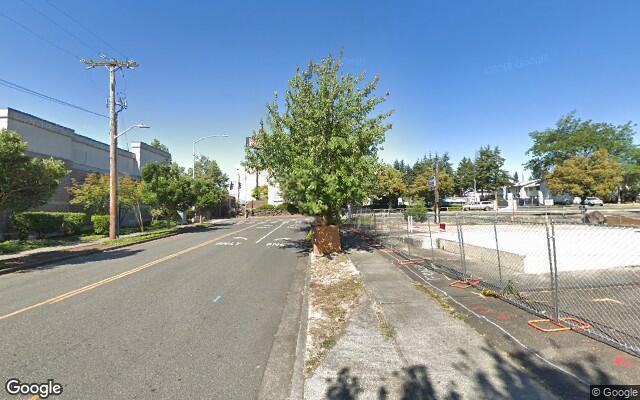 parking on Northeast 112th Street in Seattle