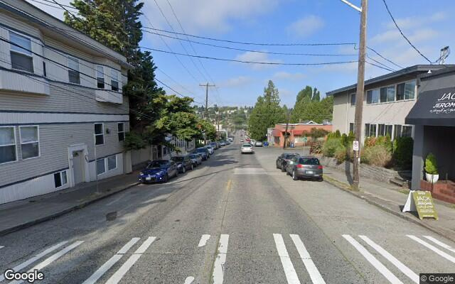 parking on Northeast 55th Street in Seattle