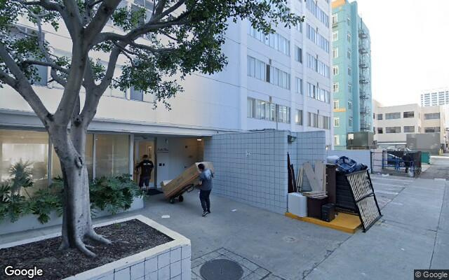parking on Pacific Plaza Santa Monica Apartments in Ocean Avenue