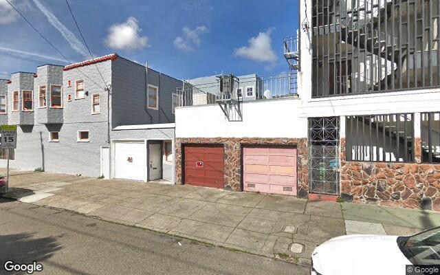 parking on Otsego Avenue in San Francisco