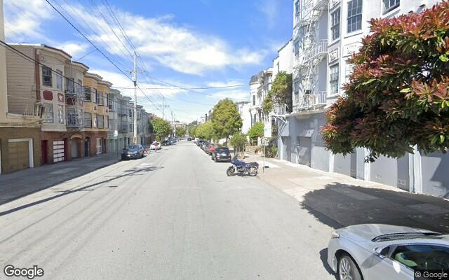 parking on Page Street in San Francisco