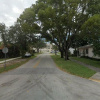 Outside parking on Palmetto Drive in Miami Springs