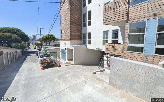 parking on Pico Blvd in Santa Monica