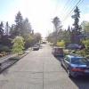 Garage parking on Ravenna Avenue Northeast in Seattle