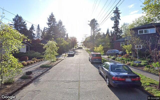 parking on Ravenna Avenue Northeast in Seattle