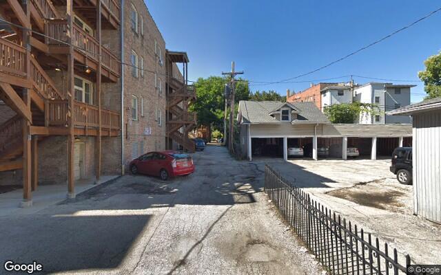 parking on S Clinton Ave in Oak Park