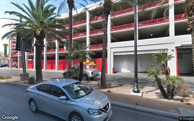 parking on S Las Vegas Blvd in Las Vegas