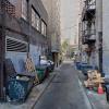 Garage parking on Sansom Street in Philadelphia