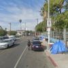 Outside parking on Selma Avenue in Los Angeles