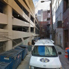 Garage parking on South 15th Street in Philadelphia