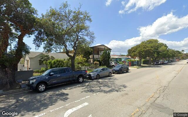 parking on South Centinela Avenue in Santa Monica