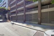 parking on South Flower Street in Los Angeles