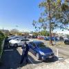 Garage parking on South La Cienega Blvd in Los Angeles