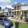 Driveway parking on South Solomon Street in New Orleans