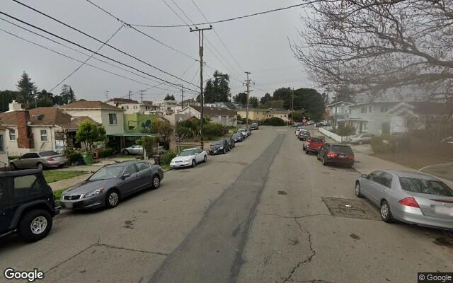 parking on E 32nd St in Oakland