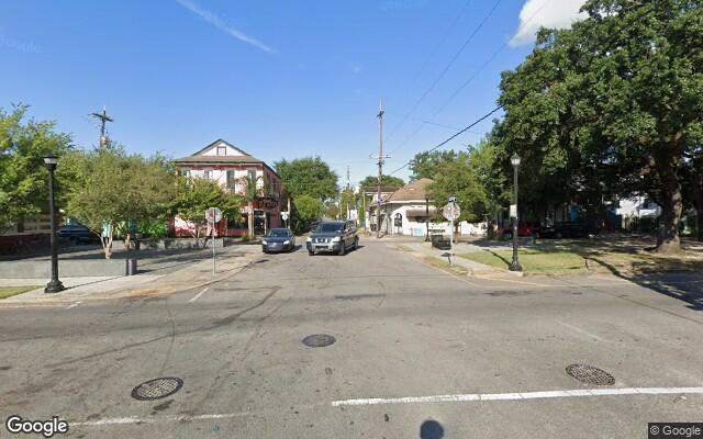parking on St Roch Avenue and Marais Street in New Orleans