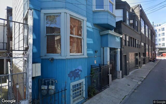 parking on Sumner Street in San Francisco