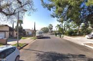 parking on Sunburst St in Panorama City