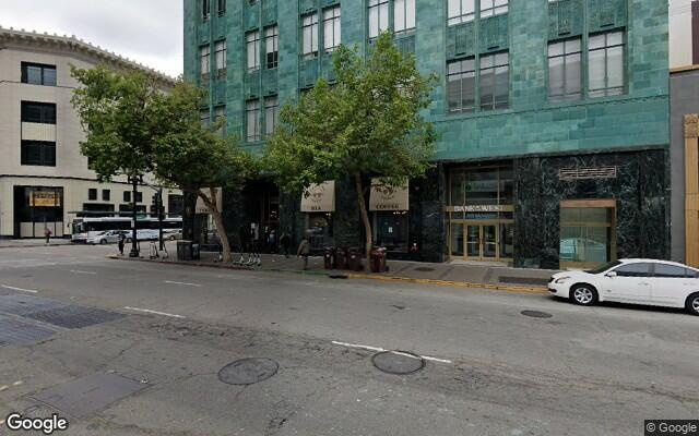 parking on Thomas L Berkley Way in Oakland