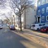 Covered parking on Trenton Street in Boston