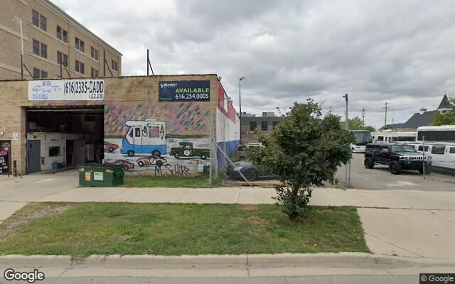 parking on Turner Avenue Northwest in Grand Rapids