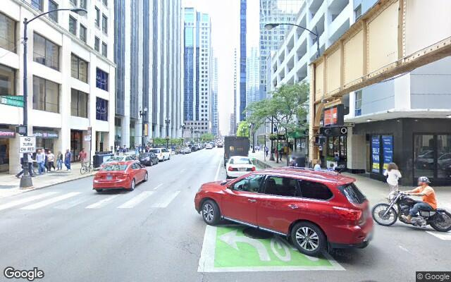 parking on W Randolph St in Chicago
